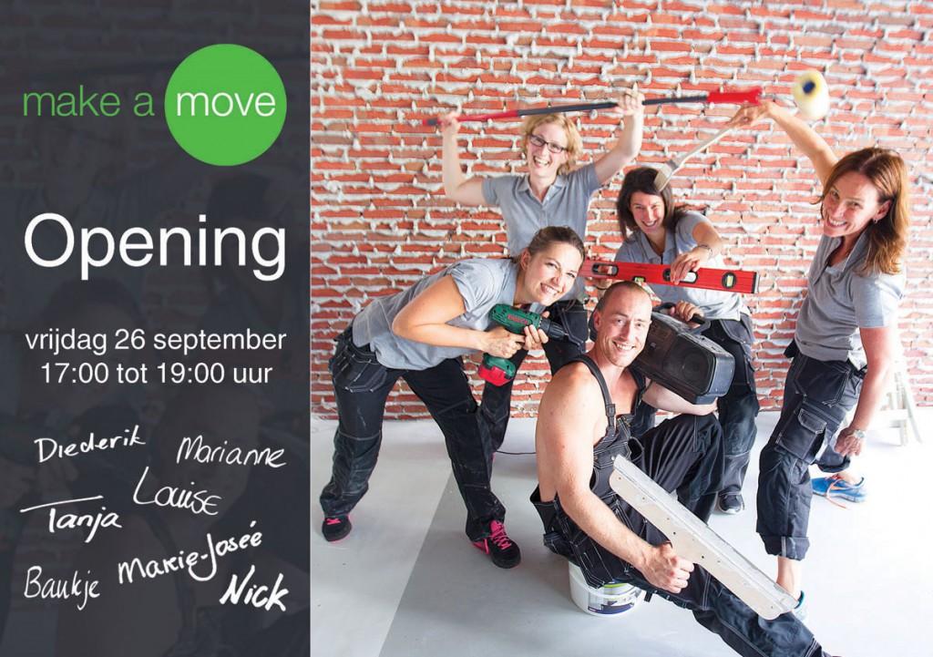Opening 26 september